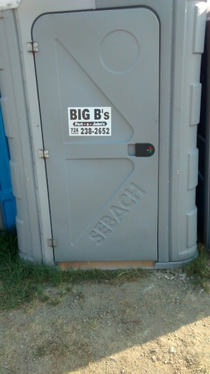 Yes, apparently even the porta-potties are Ben's.