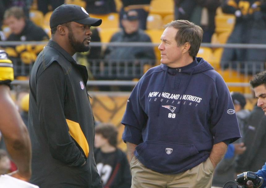 Mike Tomlin, Bill Belichick